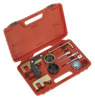 Sealey VSE5871A Diesel Engine Setting/Locking Kit - Renault, Nissan, Suzuki, Vauxhall/Opel 1.5D, 1.9D, 2.2D, 2.5D dCi/Di/Dti/CDTi - Belt Drive