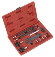 Sealey VSE2511A Petrol Engine Setting/Locking Kit - Alfa Romeo, Fiat, Lancia 1.2, 1.4 16v, 1.4 T-Jet - Belt Drive