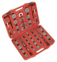 Sealey VS0287 Brake Piston Wind-Back Tool Kit 52pc