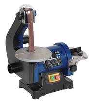 Sealey SM750 Belt/Disc Sander 25 x 762mm/¯125mm 250W/230V