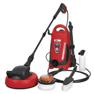 Sealey PW1600 Pressure Washer 110bar with TSS & Rotablast Nozzle 230V with Accessory Kit