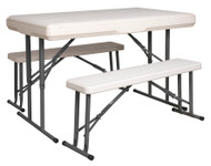 Sealey GL87 Portable Folding Table & Bench Set
