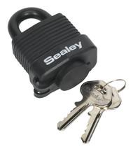 Sealey PL301W Steel Body Weatherproof Padlock 45mm