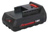Sealey CP6018VBP Cordless Power Tool Battery 18V 1.5Ah Li-ion for CP6018V