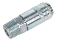 """Sealey AC63 Coupling Body Male 1/2""""BSPT"""