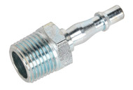 """Sealey AC68 Screwed Adaptor Male 1/2""""BSPT Pack of 5"""