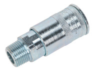 """Sealey AC72 Coupling Body Male 3/8""""BSPT"""