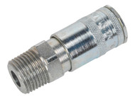 """Sealey AC73 Coupling Body Male 1/2""""BSPT"""