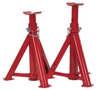 Sealey AS3000F Axle Stands (Pair) 3tonne Capacity per Stand Folding