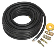 Sealey AHK01 Air Hose Kit 15mtr x ¯8mm with Connectors