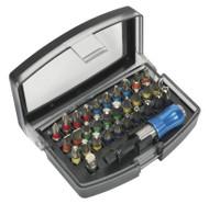 Siegen S01035 Power Tool Bit Set 32pc Colour-Coded S2