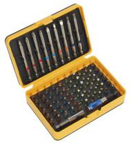 Siegen S01038 Power Tool Bit Set 71pc Colour-Coded S2