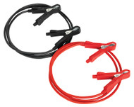 Sealey BC0515 Booster Cables 5mm_ x 1.5mtr Copper 100Amp Motorcycle