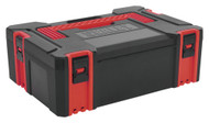 Sealey AP8150 ABS Stackable Click Together Toolbox - Medium