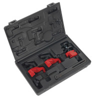 Sealey VSE887 Universal Single/Twin Camshaft Locking/Holding Tool Set