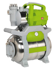 Sealey WPB062S Surface Mounting Booster Pump Stainless Steel 55ltr/min 230V