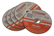 Sealey PTC/100CT5 Cutting Disc ¯100 x 1.6mm 16mm Bore Pack of 5