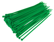 Sealey CT20048P100G Cable Tie 200 x 4.8mm Green Pack of 100