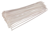 Sealey CT30048P100W Cable Tie 300 x 4.8mm White Pack of 100