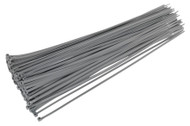Sealey CT38048P100S Cable Tie 380 x 4.8mm Silver Pack of 100