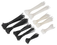 Sealey CT600BW Cable Tie Assortment Black/White Pack of 600