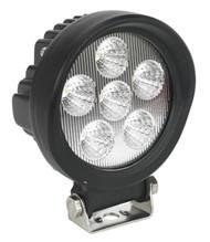 Sealey WL18W Off-Road Work Floodlight 6 LED 18W 9-32V DC