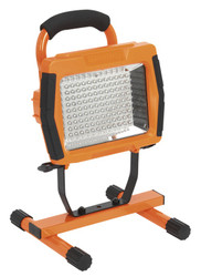 Sealey LED108CO Rechargeable Portable Floodlight 108 LED Lithium-ion - Orange