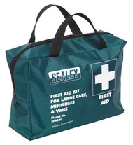 Sealey SFA02L First Aid Kit Large for Minibuses & Coaches - BS 8599-2 Compliant