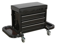Sealey SCR18 Mechanic's Utility Seat & Tool Box