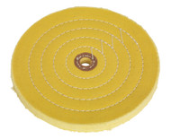 Sealey BG200BWC Buffing Wheel ¯200 x 16mm 16mm Bore Coarse