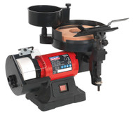Sealey SMS2107 Bench Grinder/Sharpener Wet & Dry ¯200/125mm 250W/230V