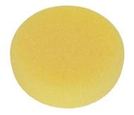 Sealey PTCCHV150Y Buffing & Polishing Foam Head Hook & Loop ¯150 x 50mm Yellow/Coarse