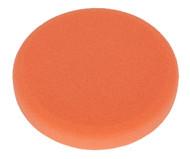 Sealey PTCCHV150O Buffing & Polishing Foam Head Hook & Loop ¯150 x 25mm Orange/Firm