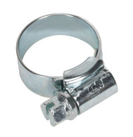 Sealey HCJ00 HI-GRIP¨ Hose Clip Zinc Plated ¯13-20mm Pack of 30