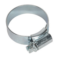 Sealey HCJ1 HI-GRIP¨ Hose Clip Zinc Plated ¯25-35mm Pack of 20