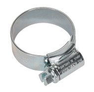Sealey HCJ1A HI-GRIP¨ Hose Clip Zinc Plated ¯22-30mm Pack of 20