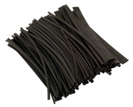 Sealey HST200B Heat Shrink Tubing Black 200mm 100pc