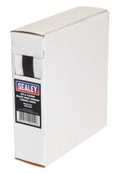 Sealey HST9508 Heat Shrink Tubing Black ¯9.5-4.8mm 8mtr