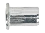 Sealey TISM6 Threaded Insert (Rivet Nut) M6 Splined Pack of 50