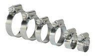 Sealey SHCS1 Hose Clip Assortment 30pc ¯8-29mm Zinc Plated