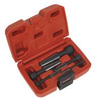 Sealey AK752 Screw Extractor Set 5pc Double Edge