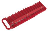 "Sealey AK27089 Socket Retaining Tray Magnetic 3/8""Sq Drive Capacity 28 Sockets"