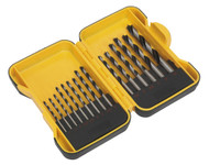 Siegen S01088 Drill Bit Set 15pc - Wood