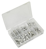 Sealey AB016CT Copper Lug Terminal Assortment 52pc
