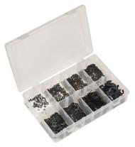 Sealey AB012ER E-Clip Retainer Assortment 800pc Metric
