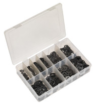 Sealey AB013ER E-Clip Retainer Assortment 800pc Imperial