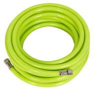 "Sealey AHFC15 Air Hose High Visibility 15mtr x ¯8mm with 1/4""BSP Unions"