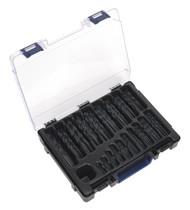 Sealey DBS170RF HSS Roll Forged Drill Bit Assortment 170pc 1-10mm