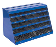 Sealey DBFGSET Drill Bit Counter Top Dispenser 250pc HSS Fully Ground