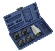 Sealey CV203 Reverse Action Wheel Stud Thread Restorer Kit - Commercial